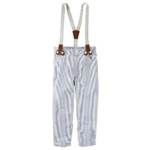Toddler Boy Seersucker Suspender Pants | OshKosh.com