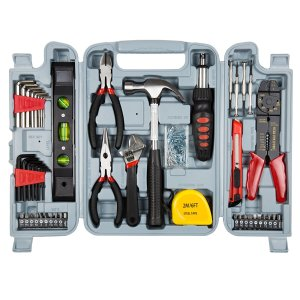 Household Hand Tools 130 Piece Tool Set