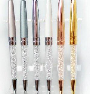 $24.5(原价$35)+满额送手环(价值$69)!外貌协会必备!Swarovski官网精选两款水晶笔热卖