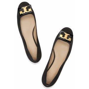 Tory Burch Gigi 麂皮粗跟鞋