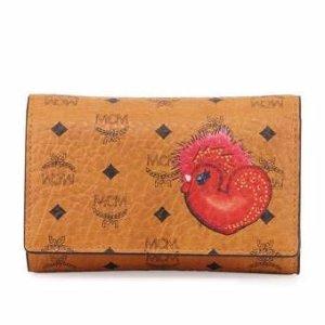 MCM New Year Series Three-Fold Flap Wallet