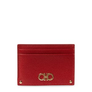 Leather Card Case by Salvatore Ferragamo at Gilt