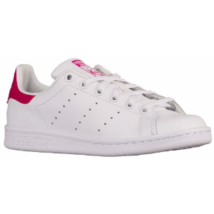 adidas Originals Stan Smith - Girls' Grade School - Casual - Shoes - White/White/Bold Pink