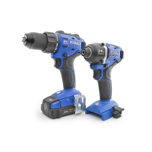 $139Kobalt 2-Tool 24-volt Max Lithium Ion Cordless Combo Kit