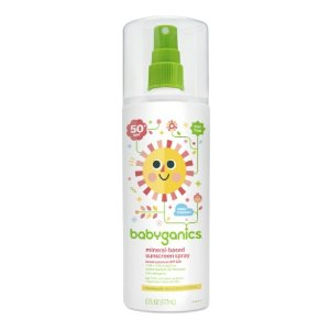 Babyganics Sunscreen Spray SPF 50, 6 Fl Oz | Jet.com