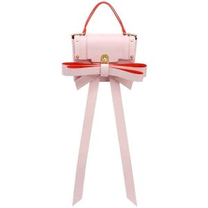 Niels Peeraer SMALL RIBBON LEATHER BACKPACK