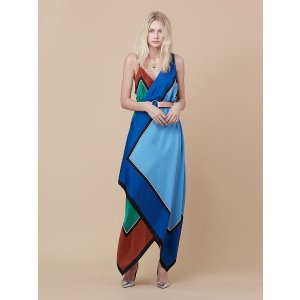 Asymmetric Scarf Dress | Landing Pages by DVF