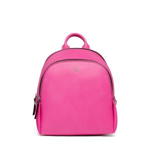 Mini Duchess Polke Studs Backpack in Electric Pink