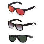 Ray-Ban RB4165 Justin New Wayfarer Sunglasses (Choice of Color & Size)