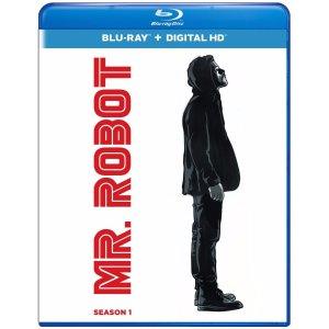 $13.99 (原价$39.98)Mr. Robot 黑客军团 蓝光光碟