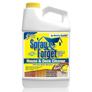 Spray & Forget 64 oz. House and Deck Cleaner, Outdoor Mold Remover, Concentrate Bottle-SFHD64OZ - The Home Depot