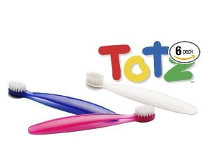 $16.87RADIUS Totz 柔软刷毛儿童牙刷 6个装