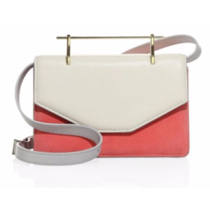 M2Malletier - Indre Suede & Leather Shoulder Bag - saks.com