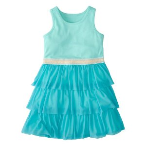 Hanna Andersson Surf II Tulle-Tiers Swish Dress | zulily