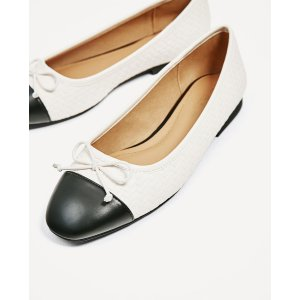 BRAIDED BALLERINAS - View all-SHOES-WOMAN | ZARA United States