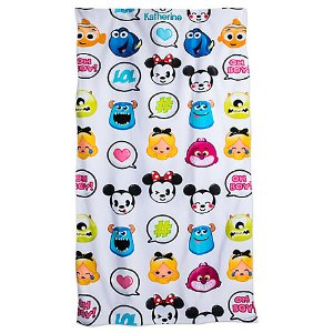 Disney Emoji Beach Towel - Personalizable | Disney Store