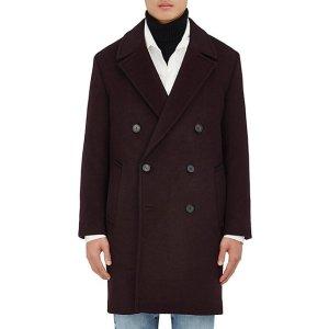 Wool-Cashmere Melton Topcoat