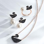 With Swarovski Swan Collection Purchase @ macys.com