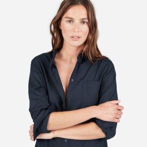 The Cotton Pocket Shirt Dress | Everlane