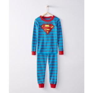 Justice League SUPERMAN™ Long John Pajamas In Organic Cotton