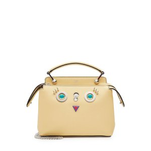 Small Dot Com Bag with Face Detail - Fendi