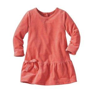 Softest Velour Dress | Baby Sale Dress