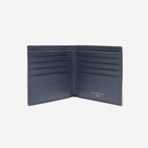 Saffiano Leather Wallet With Flap - Leather Goods - Sandro-paris.com