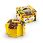 Crayola; Ultimate Crayon Collection; Art Tools; 152 Colors, Durable Storage Case, Long-Lasting Colors