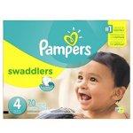 帮宝适Pampers Swaddlers 婴儿纸尿裤超值装(N-5号)