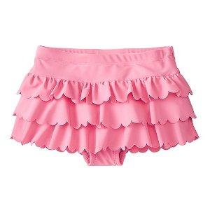 Girls Scallop Flounce Swim Skirt | Sale 20% Off Swimwear Girls