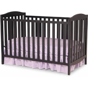 Delta Children Capri 3-in-1 Convertible Crib Black