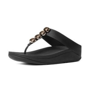 Leather Toe-Thong Sandals