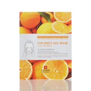 Leaders Cosmetics Orange Superfood Mask - Pack of 5