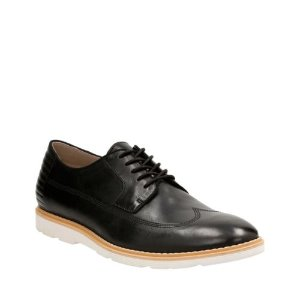Gambeson Style Black Leather - Men's Oxford Shoes - Clarks® Shoes Official Site