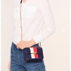 Tory Burch Duet Chain Stripe Micro Shoulder Bag : Women's View All