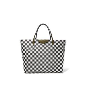 Givenchy   Antigona Shopping large checked textured-leather tote