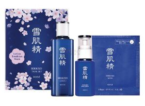 KOSE Sekkisei Trial Set + Up to $25 Gift Card + Free Shopping Bag