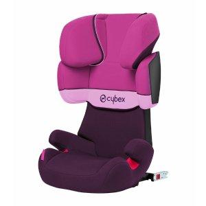 Cybex Solution X-Fix Booster Car Seat - Purple Rain