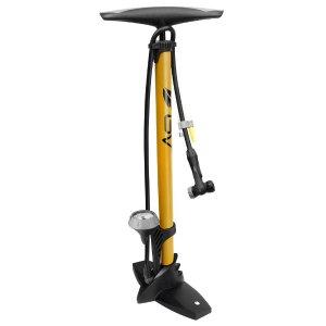 $24.99BV 带气压表法美嘴自行车打气筒 黄色款