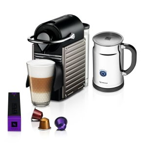 Nespresso Pixie Bundle by Breville | Bloomingdale's