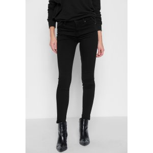 Slim Illusion Luxe High Waist Skinny in Black