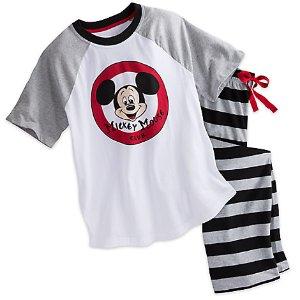 Mickey Mouse Club Pajama Set for Men | Disney Store