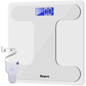 Anpro Digital Body Weight Bathroom Scale