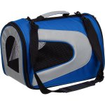 Pet Life Airline Approved Folding Zippered Sporty Mesh Pet Carrier