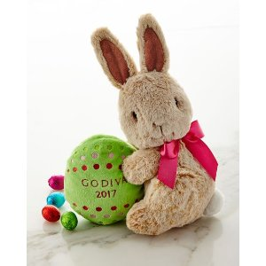 Godiva Chocolatier 2017 Limited-Edition Plush Bunny