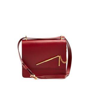 Straw medium leather cross-body bag | Sophie Hulme | MATCHESFASHION.COM US