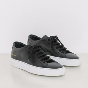 Woman by Common Projects Original Achilles Low White Sole in Black