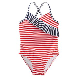 OshKosh Striped Swimsuit | Carters.com