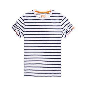 Superdry Orange Label Brittany Stripe T-shirt - Men's T Shirts