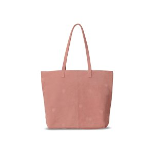 Dusty Rose Suede Embroidered Cosmopolitan Tote | TOMS®